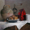 "I'm very honored that ""The Ol' Coffee Mill"" was selected for the Oil Painters of America 2015 Eastern Regional Exhibition and as a Finalist in The International Artist Magazine Still Life Challenge to be  Published in the October/November 2015 issue."